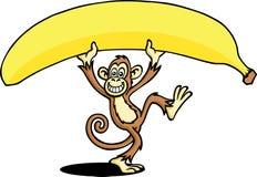 банан большой иллюстрация вектора