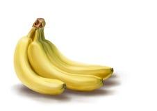 Банан-делать эскиз к изображению Стоковые Фото