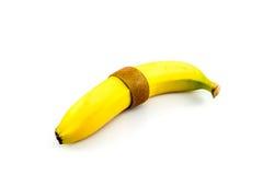 Банан и киви сшитые вверх по совместно Стоковые Фото