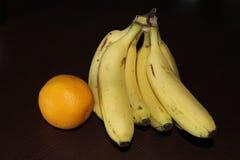 Банан и помераец Стоковая Фотография RF