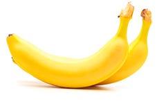 Банан на белизне Стоковое фото RF