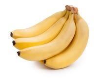 банан предпосылки закрепляя легкий архив включает путь зрелый к белой работе Стоковое Изображение