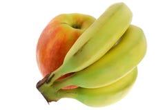 банан яблока стоковое фото rf