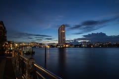 Бангкок в сумерк Стоковое фото RF