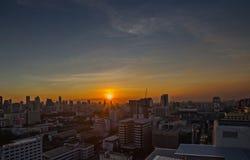 Бангкок в сумерк Стоковая Фотография RF