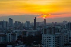 Бангкок в сумерк Стоковые Фотографии RF