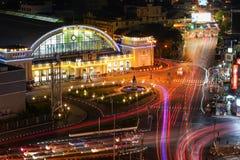 Бангкок железнодорожное StationHua Lamphong стоковые фотографии rf