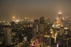 Бангкок к ноча Стоковое Изображение
