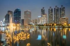 Бангкок на Loy Krathong стоковые изображения