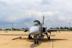БАНГКОК - 2-ОЕ ИЮЛЯ: JAS 39 Gripen Стоковые Фотографии RF