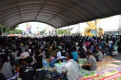 БАНГКОК - 11-ОЕ НОЯБРЯ: Демократ на марша на Democr Стоковые Изображения RF