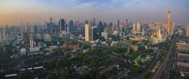 БАНГКОК ТАИЛАНД - 11-ОЕ ДЕКАБРЯ: вид с воздуха небоскреба внутри он Стоковое Изображение