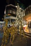 БАНГКОК, ТАИЛАНД - 9-ОЕ ДЕКАБРЯ: Люди приходят посетить и принять пэ-аш стоковые фотографии rf