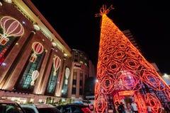 БАНГКОК, ТАИЛАНД - 9-ОЕ ДЕКАБРЯ: Много людей приходят посетить и животики Стоковые Фото