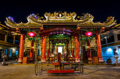 БАНГКОК, ТАИЛАНД - 11-ое декабря: Святыня Guan Yin на Чайна-тауне, Yaowa Стоковое Фото