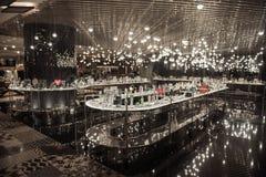 БАНГКОК, ТАИЛАНД - 22-ОЕ ЯНВАРЯ 2017: Продукты моды в Сиаме d Стоковая Фотография