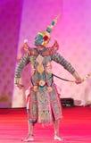 БАНГКОК, ТАИЛАНД - 15-ОЕ ЯНВАРЯ: Тайское традиционное платье. anci Стоковые Фото