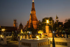 Бангкок, Таиланд, висок Wat Arun Стоковые Фото
