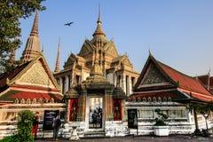 Бангкок, Таиланд, висок Wat Pho Стоковые Изображения