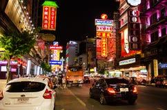 Бангкок, Таиланд: Городок Китая Стоковые Фотографии RF