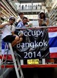 Бангкок, Таиланд: Деятельность выключила протестующих Бангкока Стоковая Фотография RF