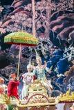 Бангкок Таиланд - 13-ое декабря 2015, Khon драма танца Tha Стоковое Фото