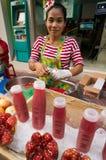 БАНГКОК, - 10-ОЕ ФЕВРАЛЯ: Китайское Новый Год 2013 - торжества внутри Стоковое фото RF