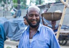 Бангладешские счастливые старые люди стороны улыбки стоковое изображение rf