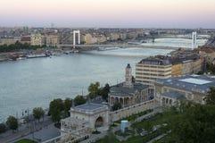 2 банка Будапешта Стоковая Фотография RF