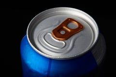Банка пива металла Стоковое Фото