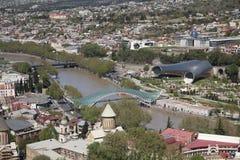 2 банка Тбилиси Стоковое фото RF