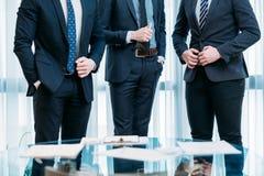 Банкир бизнесменов команды успеха руководства стоковая фотография