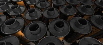 банки пленки 35mm Стоковые Фотографии RF