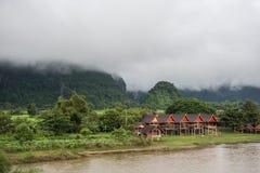 Банки реки песни Nam Стоковые Фотографии RF