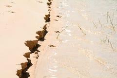 Банки дюны Lençois Maranhenses Стоковая Фотография