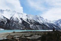 Банки Ranwuhu тибетских людей Стоковые Изображения