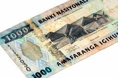 Банкнота валюты Африки Стоковое фото RF