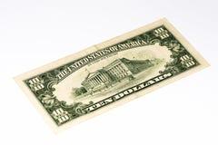 Банкнота валюты США Стоковое фото RF