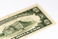 Банкнота валюты США Стоковое Изображение