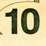 Банкнота валюты США Стоковые Изображения