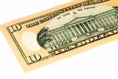 Банкнота валюты США Стоковая Фотография