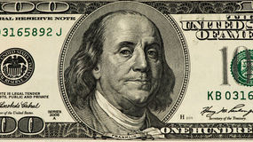 Банкнота валюты США Стоковые Фото