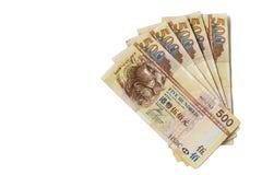 Банкнота Гонконга Стоковое Изображение RF