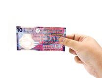 Банкнота доллара Гонконга Стоковое фото RF