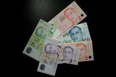 Банкнота доллара Сингапура Стоковые Фото
