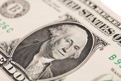 Банкнота доллара Стоковые Фото