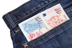 Банкнота долларов Сингапура Стоковое Изображение