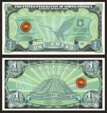Банкнота одно Amero бесплатная иллюстрация