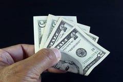 Банкнота Соединенных Штатов Стоковое фото RF