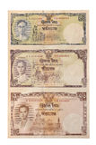 Банкнота Таиланд изолированный с путем клиппирования Стоковые Изображения RF